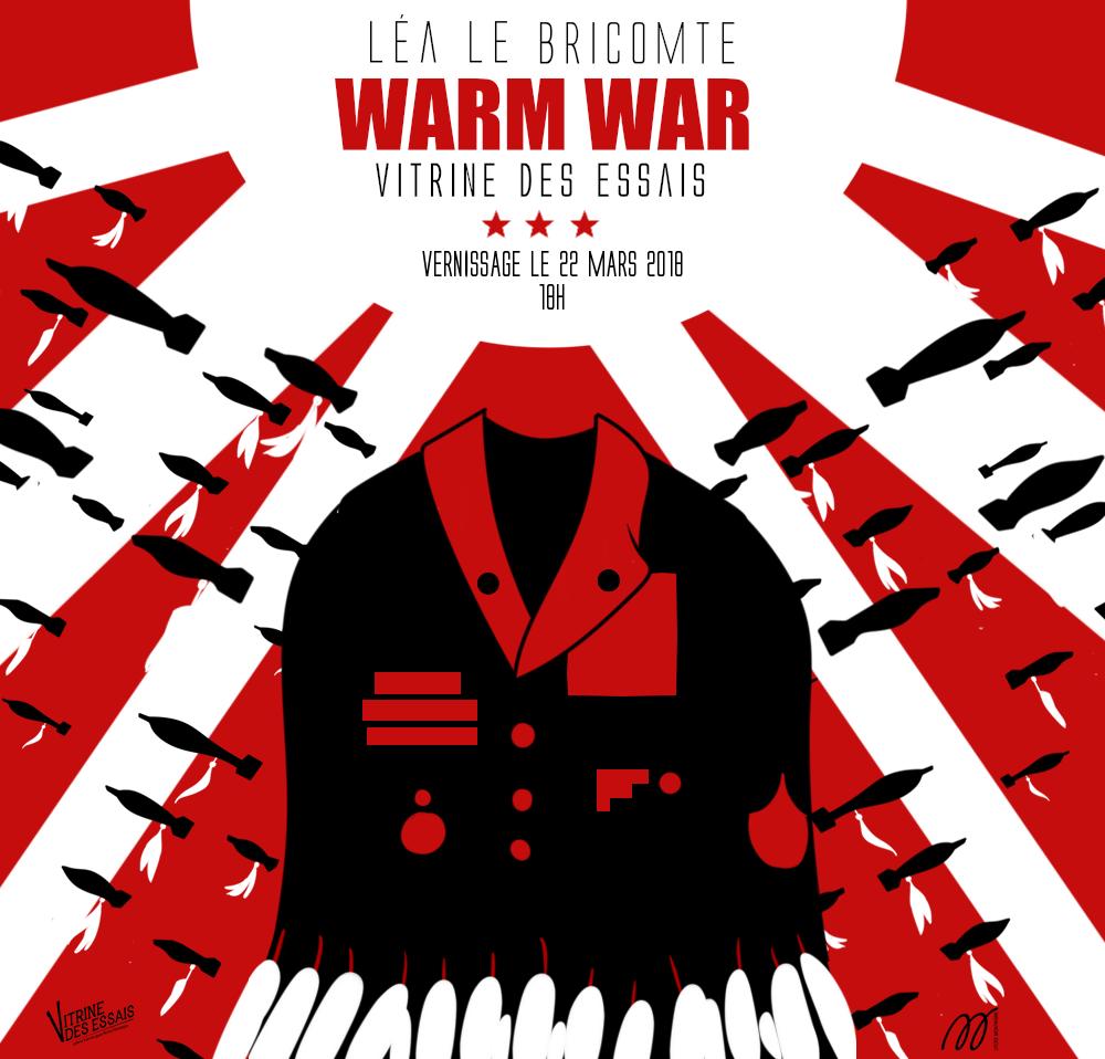 WARM WAR Exposition du 22 mars au 25 mai 2018 avec Léa Le Bricomte et Silicone espace d'art contemporain