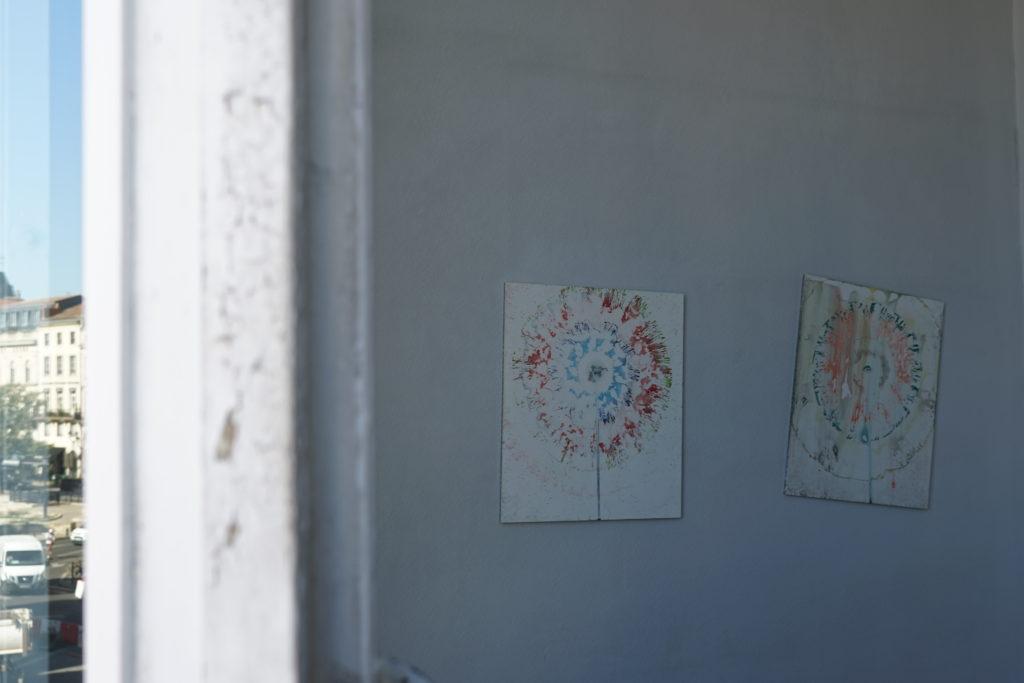 Vue de l'exposition Pauline Bazignan