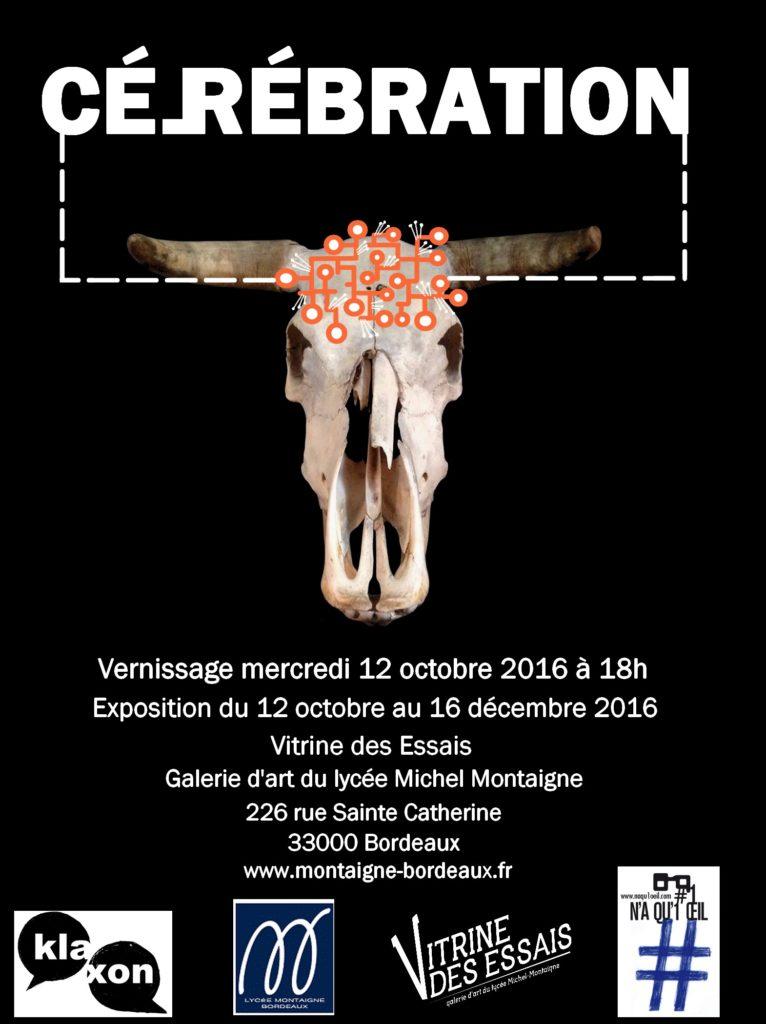 CÉL(R)ÉBRATION Exposition du 12 octobre au 16 décembre 2016 avec le collectif Kla xon des éditions N'a qu'un œil