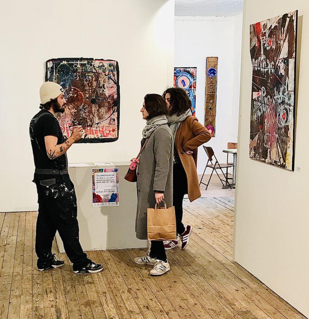 Alexis Alary à la galerie Wilhelm Blais - février 2020