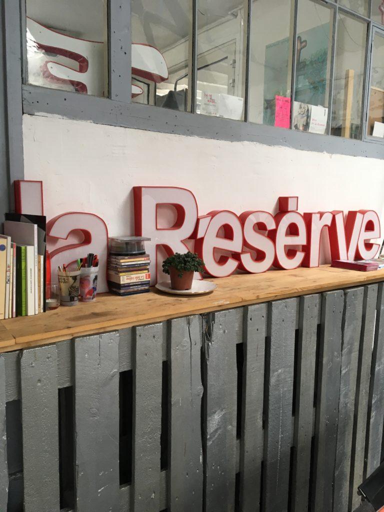 Février 2017, La Réserve - Bienvenue