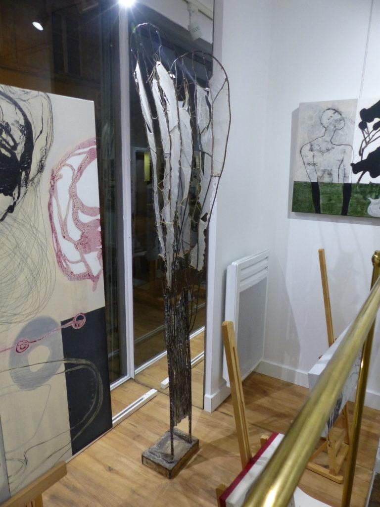 Franca Ravet, peinture et Alice Morlon, sculpture