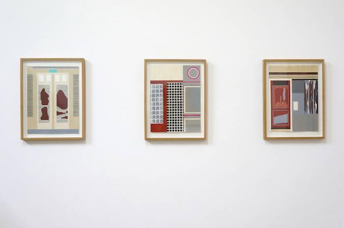 Vue de l'exposition de Jeanne Tzaut, Villa Potemkine, 5un7, Bordeaux