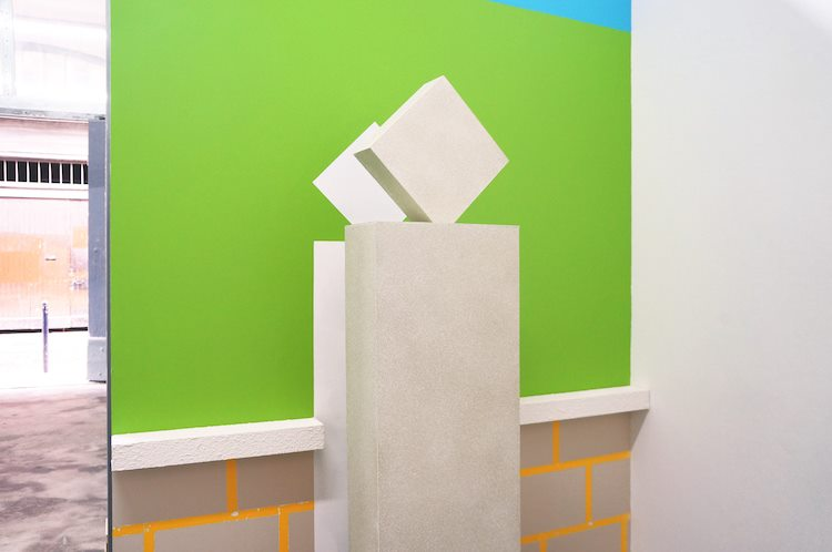 Exhibition view of Jeanne Tzaut, Villa Potemkine, 5un7, Bordeaux
