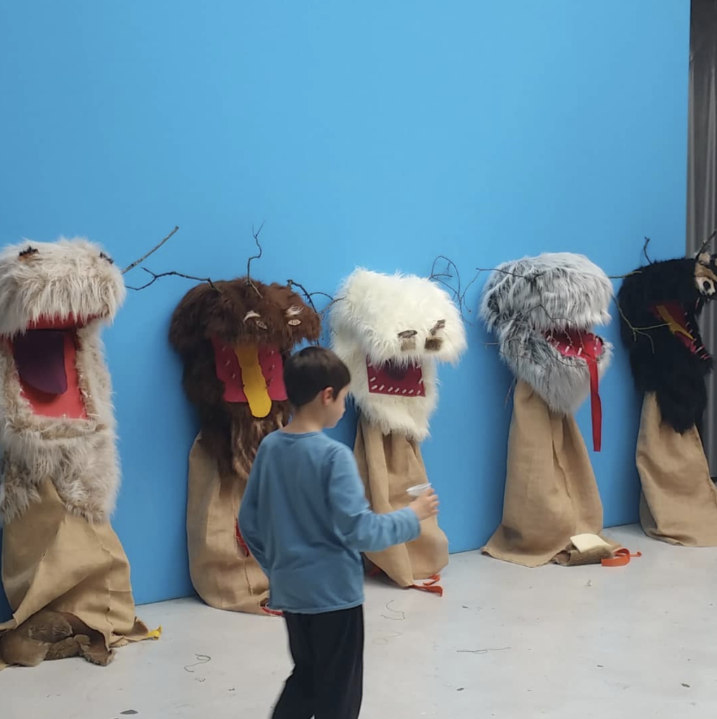 Atelier Bô - Costumes and Films made by the children of the workshop and with Julie Chaffort, in collaboration with the CAPC Museum of Contemporary Art