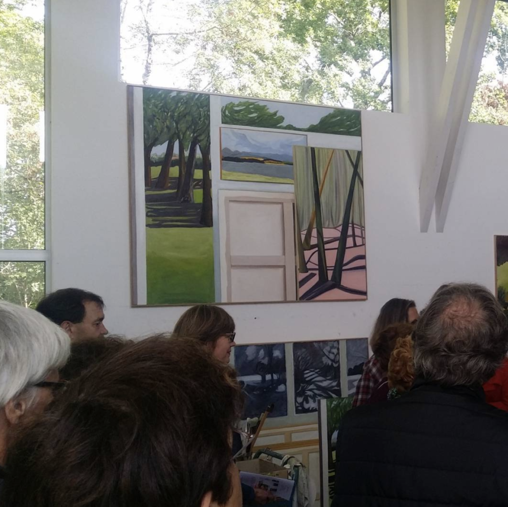 Visit of the Maya Anderson's studio, in the presence of the artist - A collaboration with les arts au mur, artothèque (Pessac)