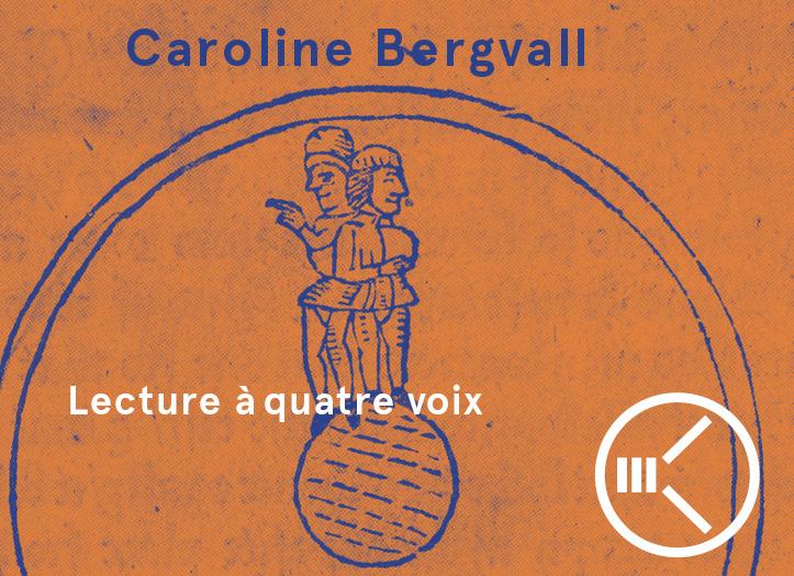 [Grande Conférence] Caroline Bergvall