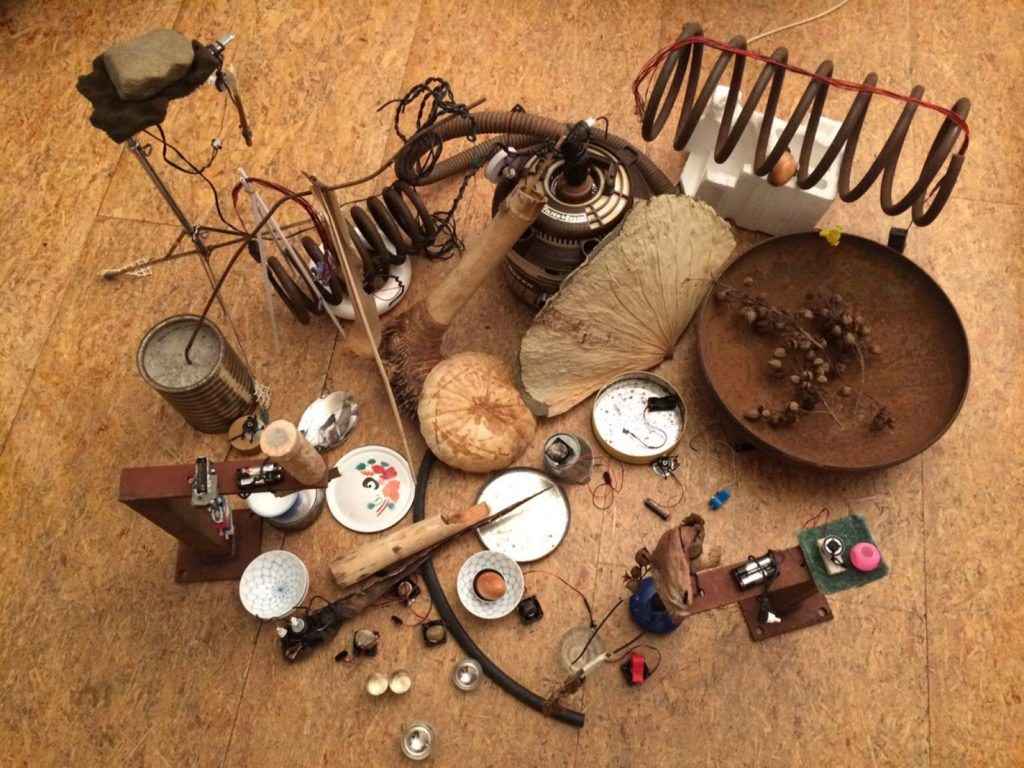[Performance sonore] – «Dead Plants and Living Objects»