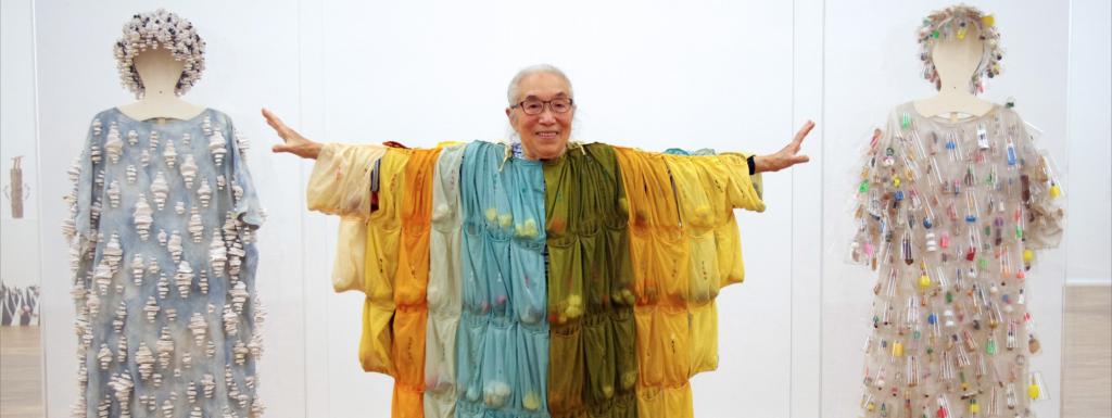Vue de l'exposition de Takako Saito au MKG de Siegen, Allemagne