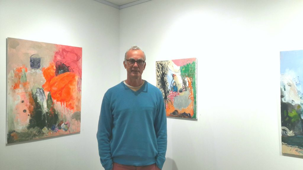 Jérôme Blaiset, gallery owner