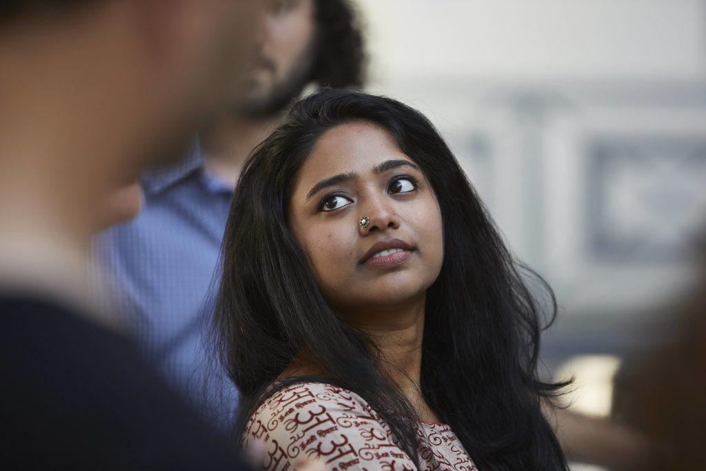 Fin de résidence Priyanka Aelay