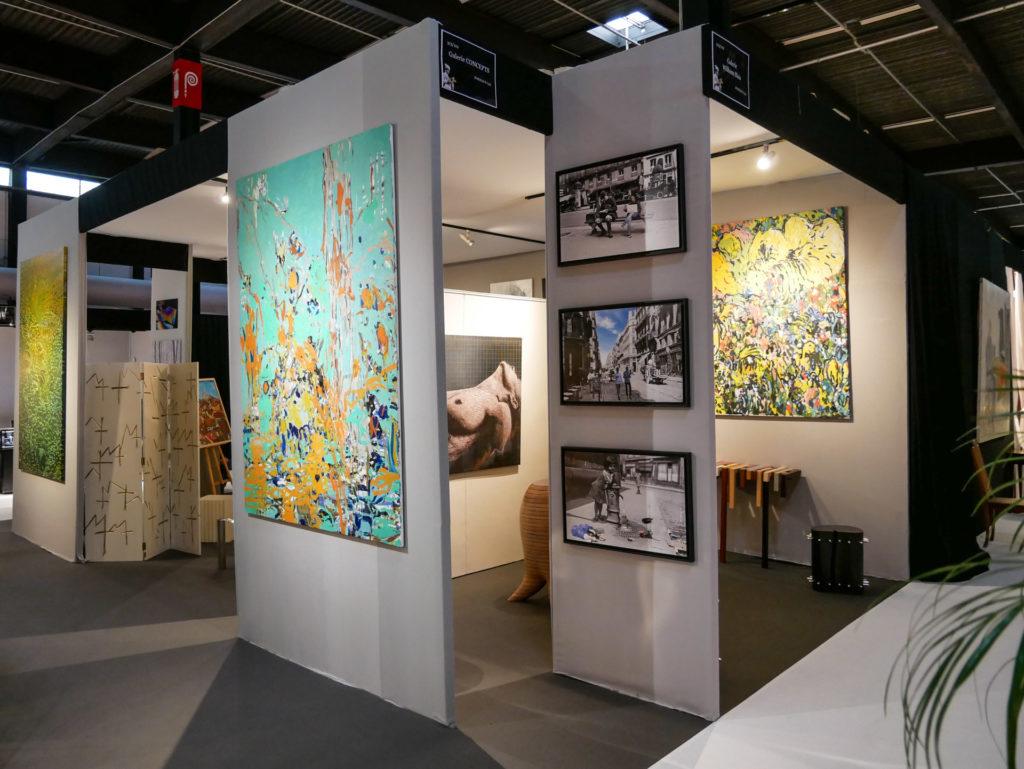 Stand 212-313 Galerie Wilhelm Blais au Parc des expositions de Bordeaux