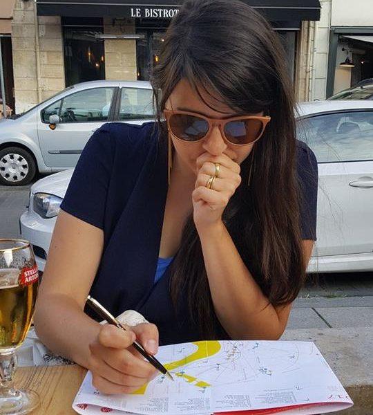 Elise Girardot, curatrice