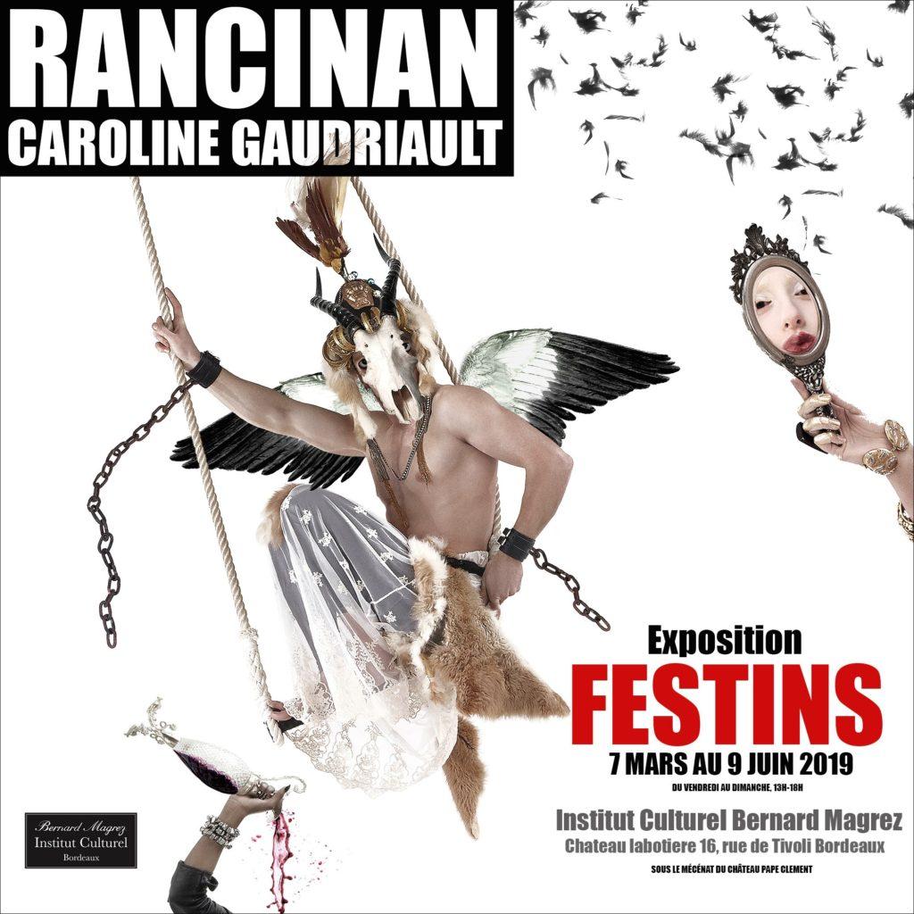 Exposition «FESTINS» de Gérard Rancinan et Caroline Gaudriault