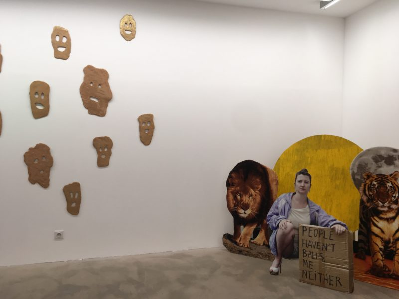 Exposition BADAAAASS, Galerie la Mauvaise Réputation / WAC#1