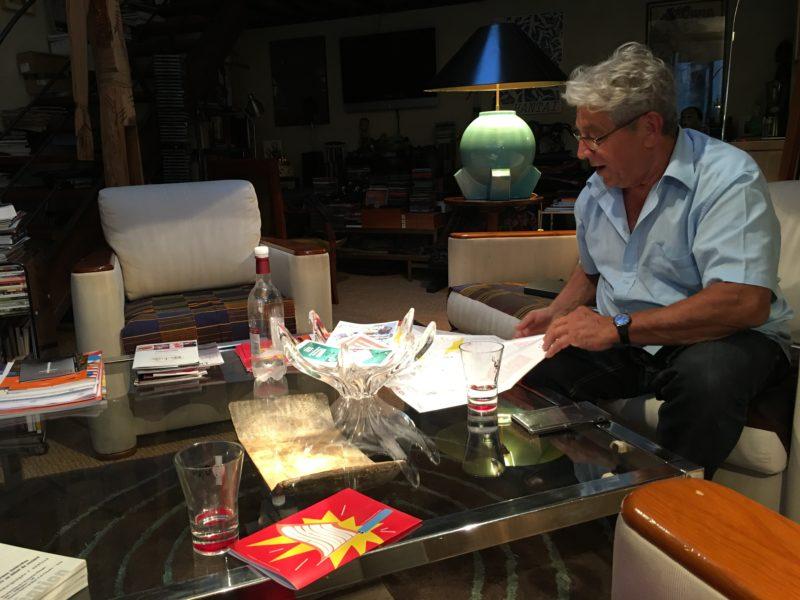 Guy Lenoir, directeur artistique de MC2A