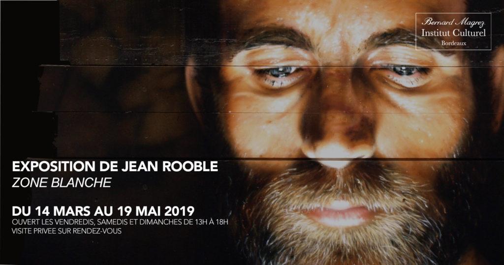 Vernissage de l'exposition «Zone Blanche» de Jean ROOBLE