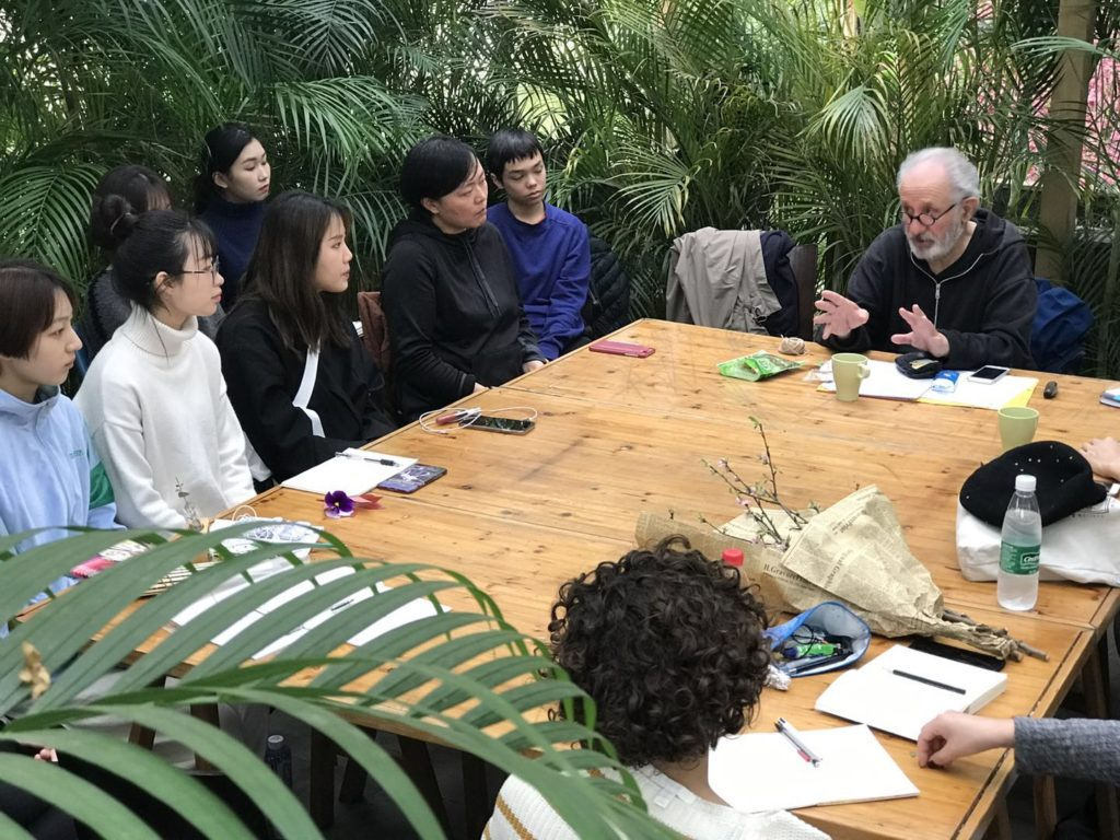 Jean-Paul Thibeau, Méta-workshop, SIVA Shangai, 4 mai 2019 / © Paul Devautour
