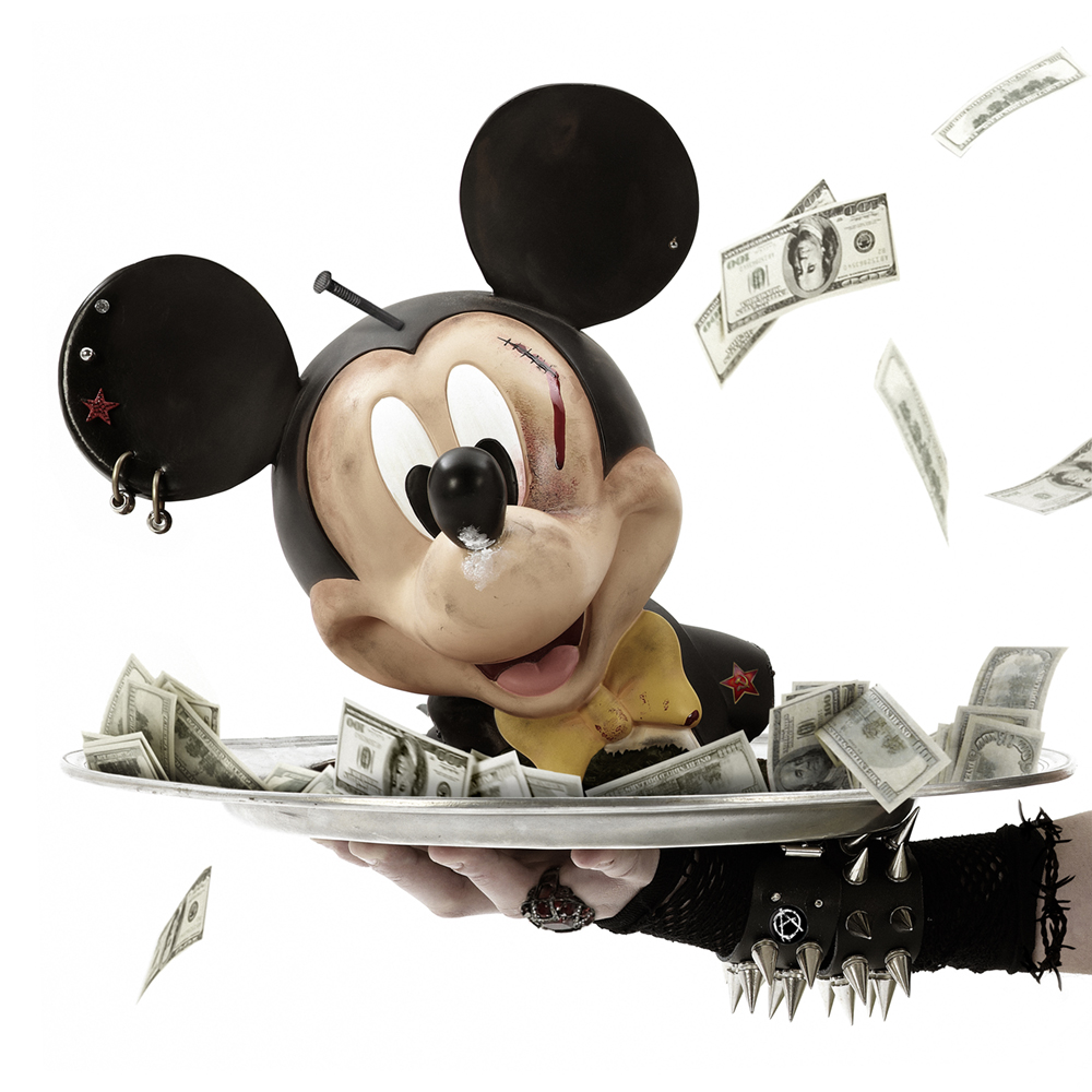 ATELIER   Tête de Mickey en polystyrène – Autour de Gérard Rancinan