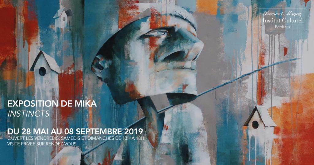 Vernissage et exposition » INSTINCTS» de MIKA