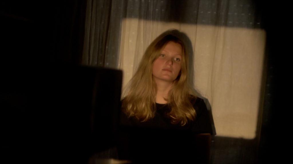 Anna Toussaint - Images extraites du film Le fatal et le fortuit réalisé par Ange Leccia, 2019