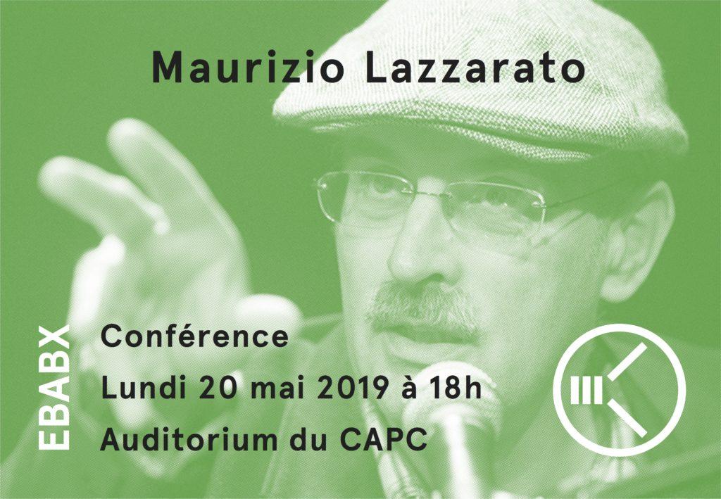 [Grande Conférence #5] Maurizio Lazzarato