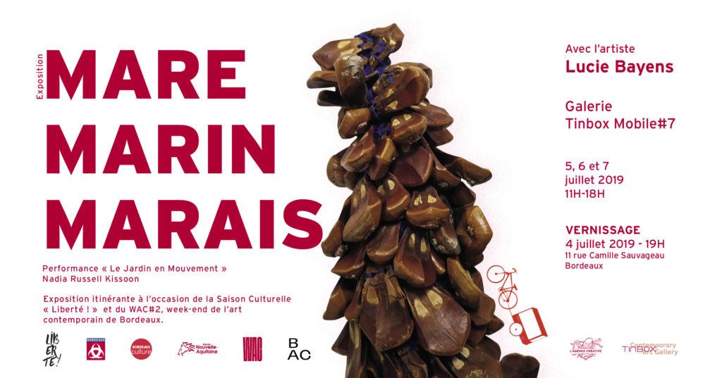 Mare Marin Marais / Lucie Bayens – Galerie Tinbox Mobile#7
