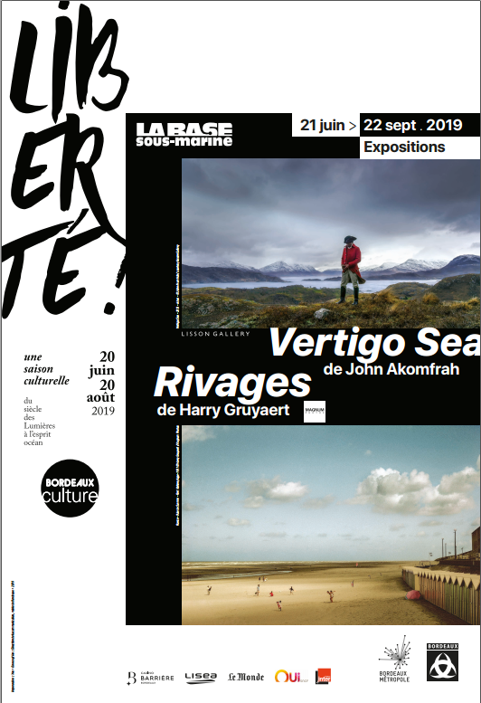 Expositions : Rivages – Harry Gruayert et John Akomfrah – Vertigo Sea