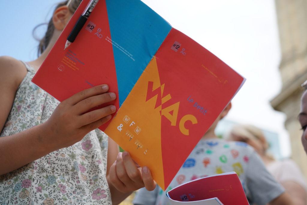 Le Petit WAC, Elora Jolis et Caroline Godon © Pierre Planchenault - Courtesy WAC / bordeauxartcontemporain.com