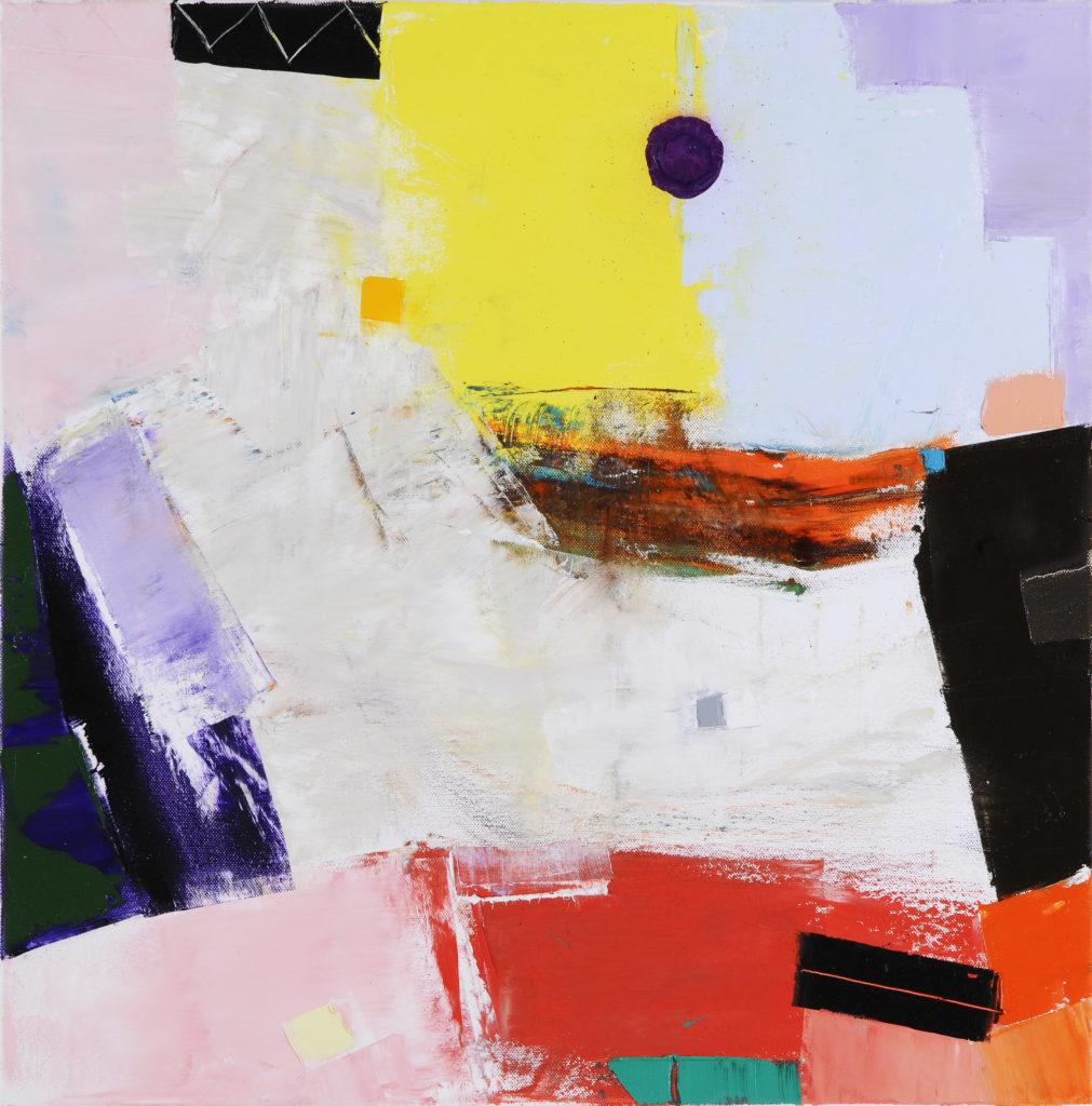 Jean-Jacques ROSSBACH - Seaside - Huile sur toile - 50 X 50 cm - 2017