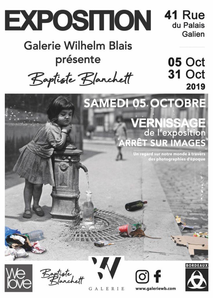 Baptiste BLANCHETT – «Arrêt sur image»