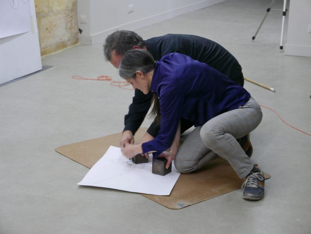Emmanuel Ballangé et Véronique Lamare, À la butée © Sophie Mouron