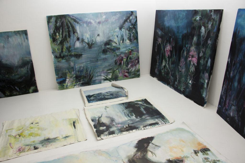 ART & BRUNCH dans l'exposition DEVENIR-AQUATIQUE #3 de Solène Lestage par L'Agence Créative