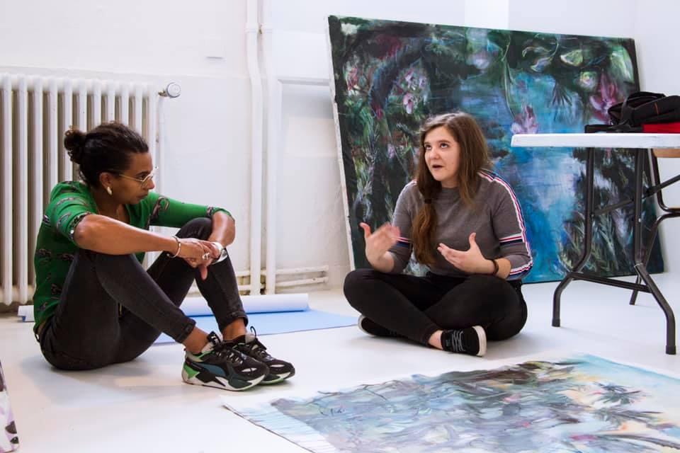 Apéritif-Rencontre aves l'artiste Solène Lestage et la commissaire d'exposition Nadia Russell Kissoon