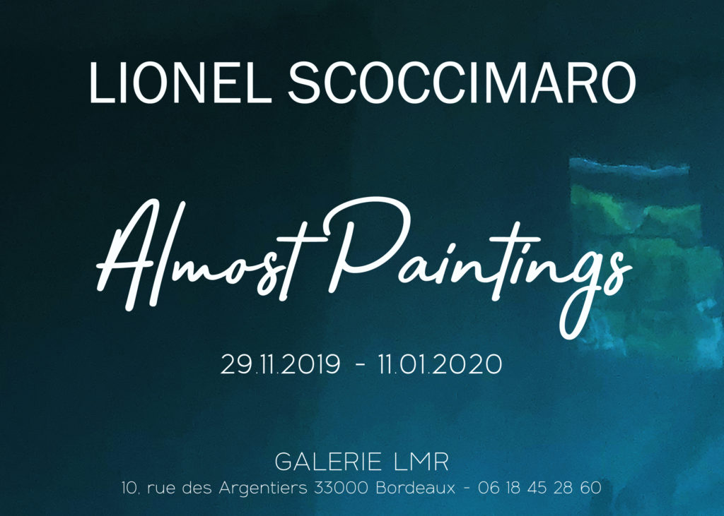 Lionel Scoccimaro – Almost Paintings