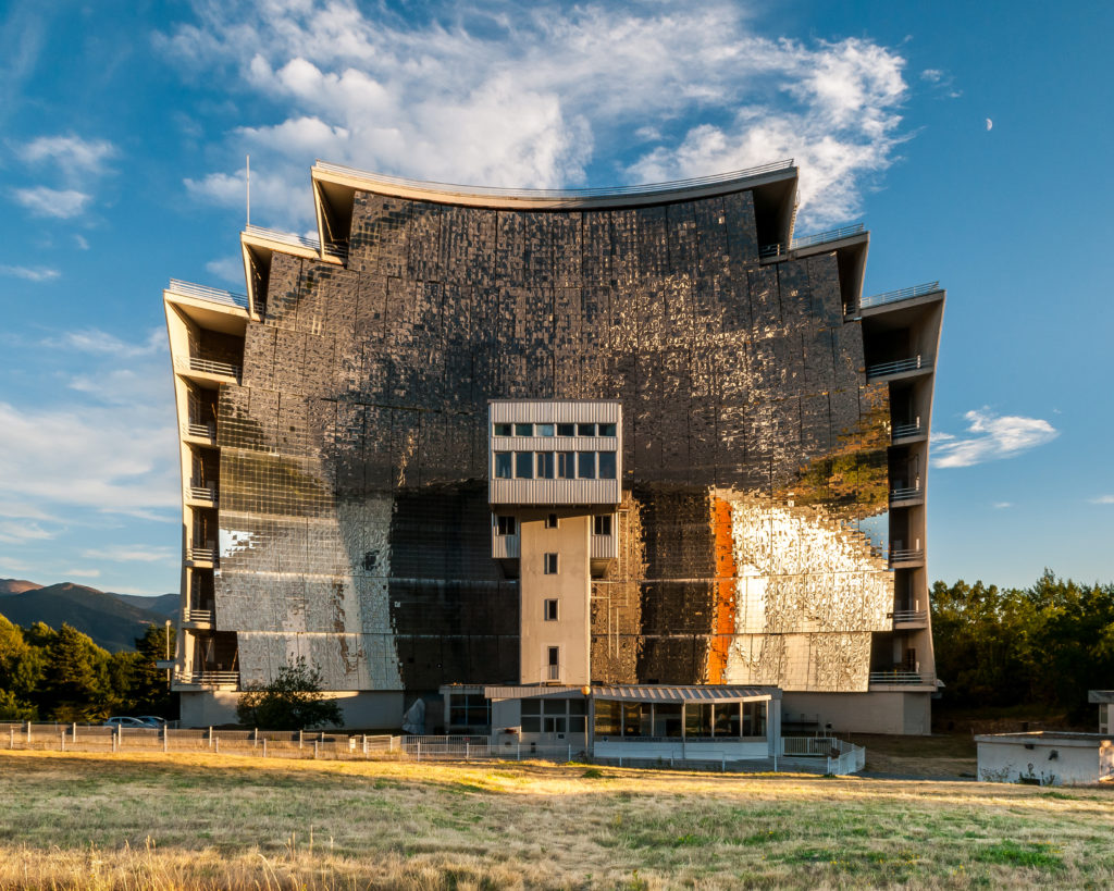Odeillo Solar Furnace, French National Center for Scientific Research, France, 2012