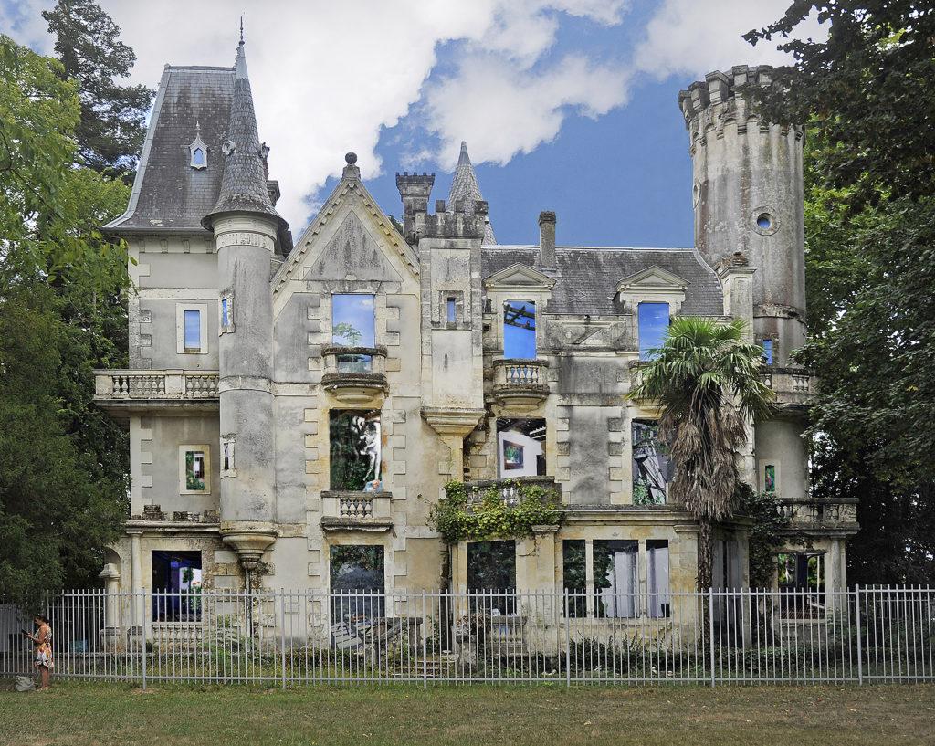 Muriel Rodolosse, Mirabilia, 2020, public commission of the château du Bois fleuri© picture Ville de Lormont