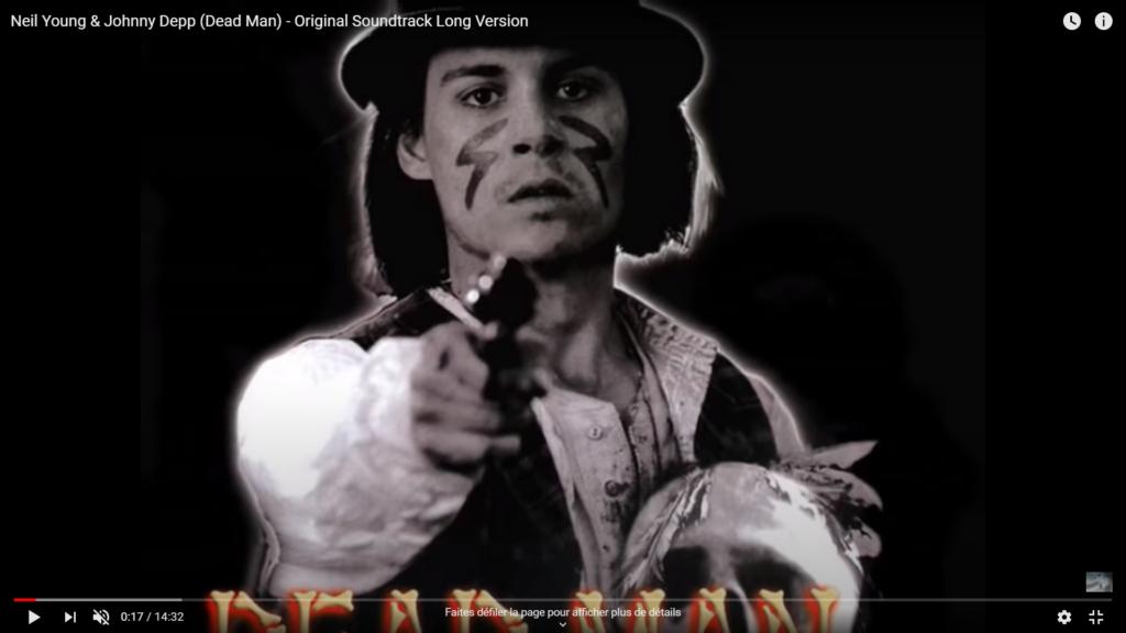 Soirée Western ! Projection du film Dead man de Jim Jarmusch, précédée d'une rencontre avec David Coste