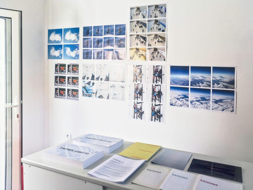 Visite de l'atelier de Pierre-Lin Renié
