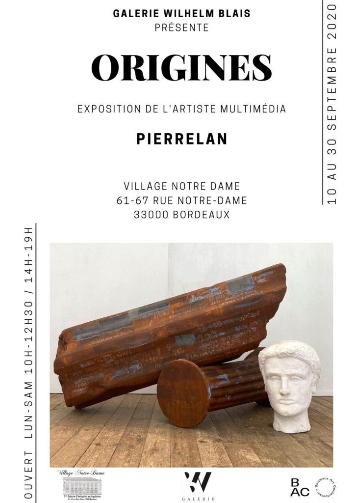 Exposition «ORIGINES» de PierreLan