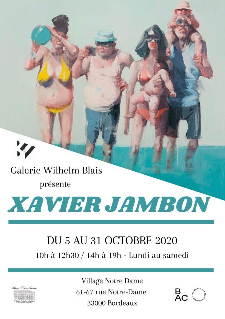 Exposition – Xavier Jambon – Artiste peintre