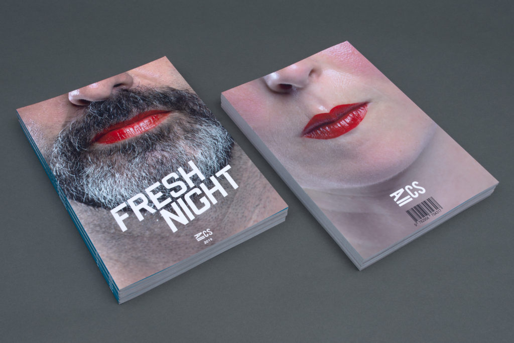 Claire Soubrier - FRESH NIGHT / Format A4 / Dos carré collé / 84 pages