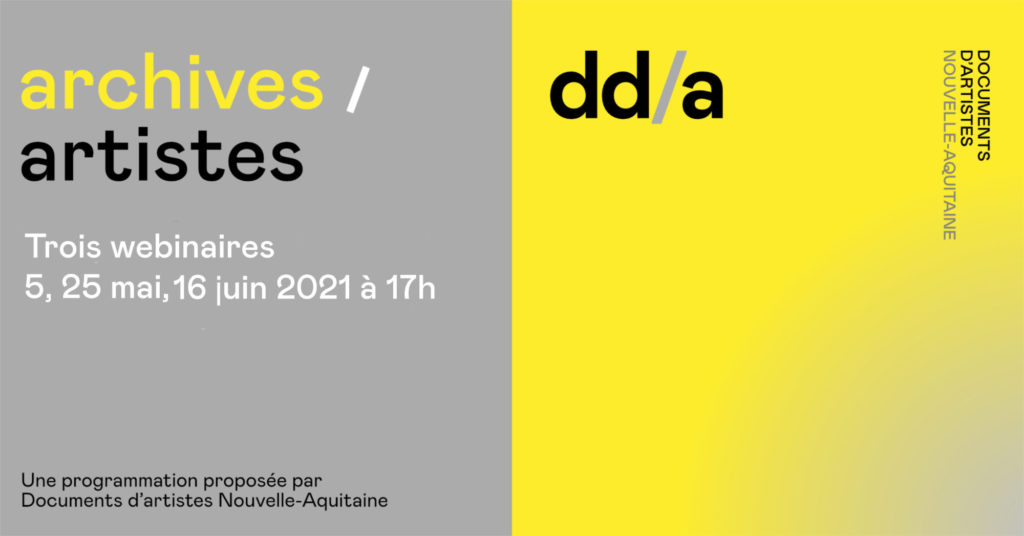 WEBINAIRES archives/artistes