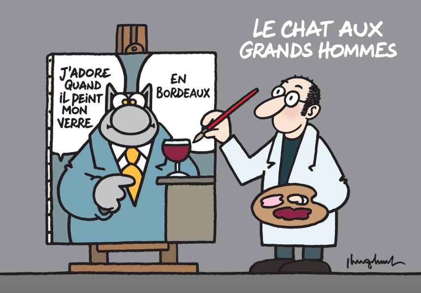 Le Chat aux Grands Hommes – Philippe Geluck