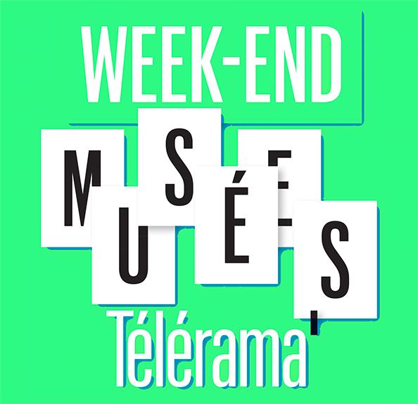 Week-end Musées Télérama aux arts au mur